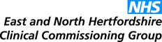 East and North Herts CCG logo